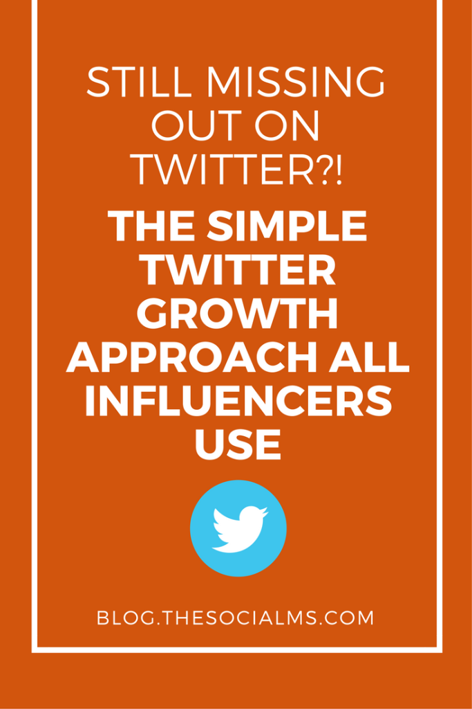 How did social media influencers get on the path to Twitter growth? They use a simple algorithm. And you can use this method, too!
