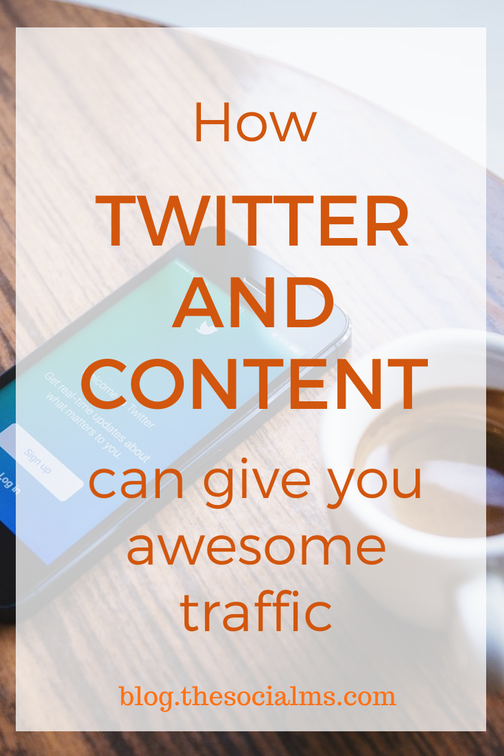 Content is needed for any social media strategy. Twitter is a reliable social network. Twitter and content can give you huge amounts of traffic. Here is how. #twitter #twittertips #socialmedia #socialmediatips #socialmediamarketing #blogtraffic