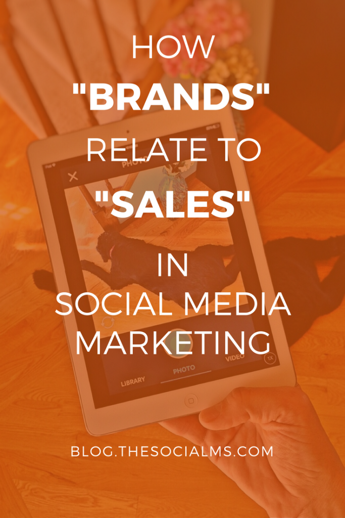 Social Media is not about selling - really? Most of us marketers would not even be in social media without the possibility to sell something.