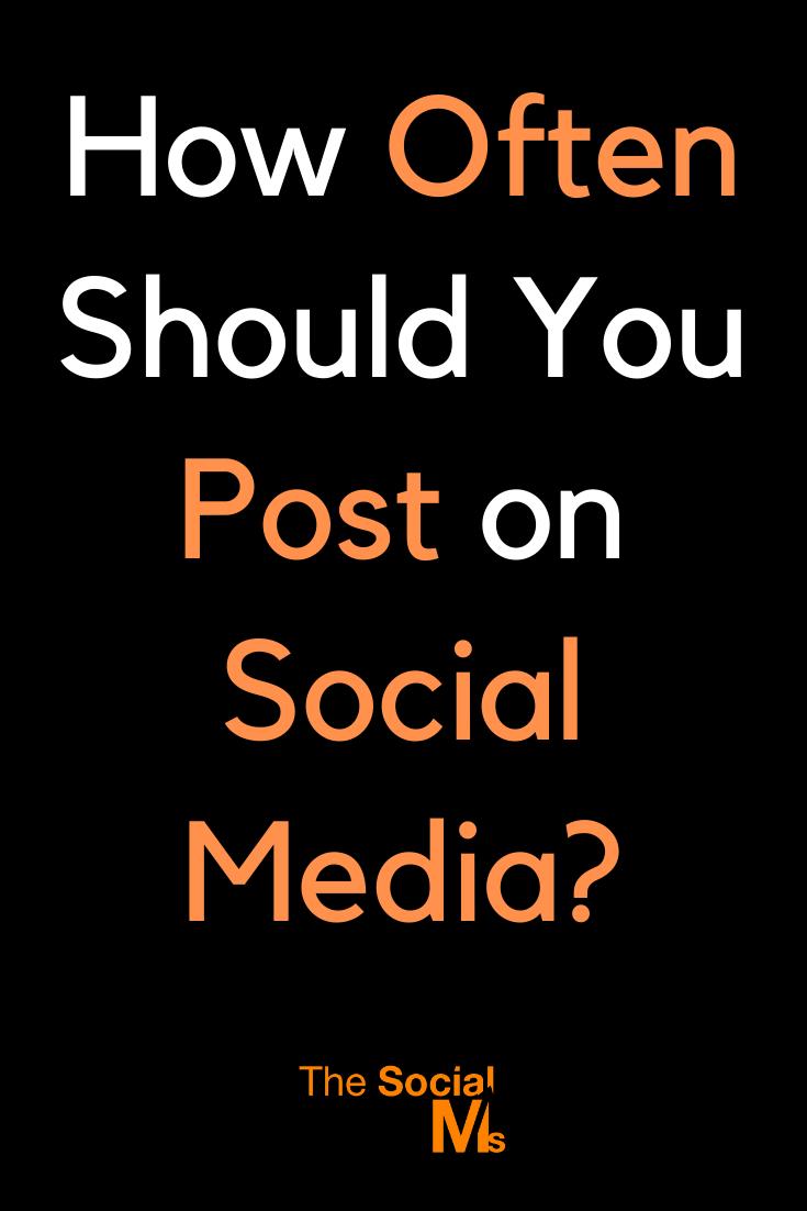 Nors skelbimas per dažnai gali (arba gali ir nepadaryti) jūsų sekėjų, o blogiausiu atveju jie jūsų nebeklausys, jei nepakankamai paskelbsite, praleisite galimybę.  Juk socialiniuose tinkluose būsite matomas tik paskelbus.  #socialmedia #socialmediamarketing #socialmediatips #smallbusinessmarketing