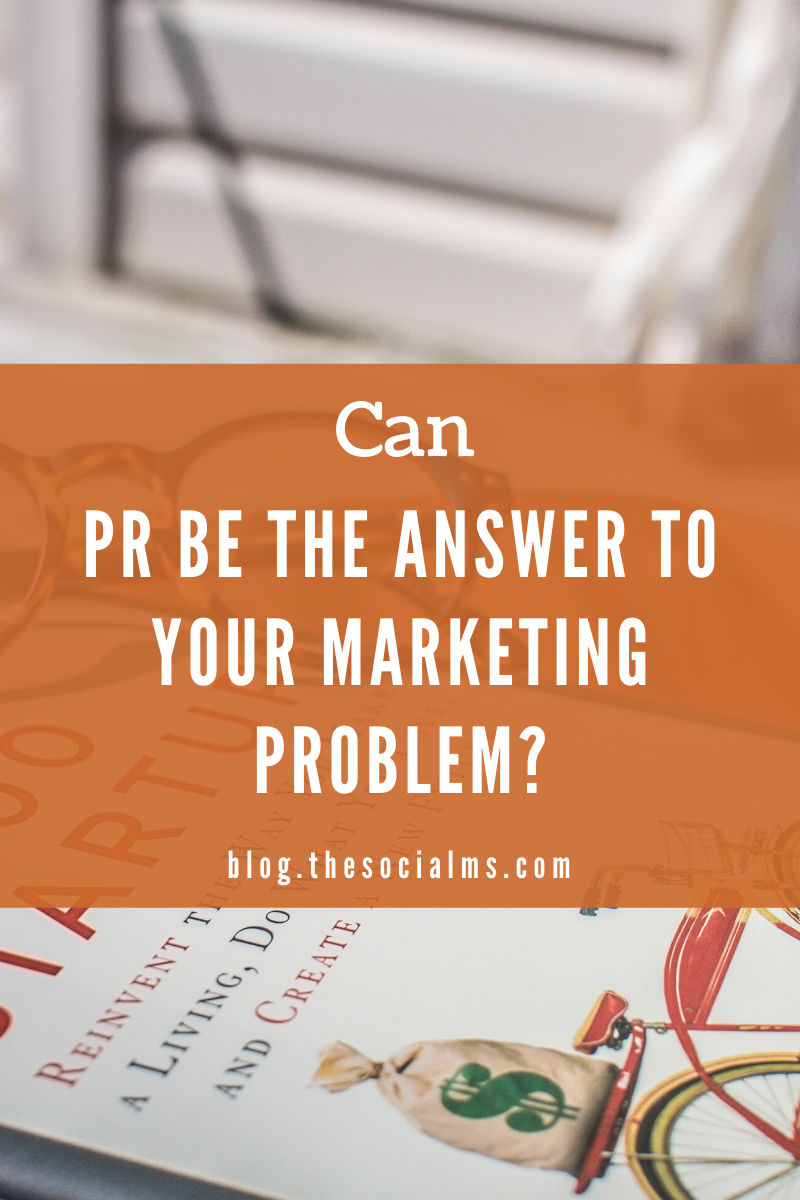 When we started out as entrepreneurs we believed that PR would be a good idea to help with making our new startup know to a larger audience. But is public relations really an alternative to marketing? #entrepreneurship #startupmarketing #smallbusinessmarketing #onlinebusiness #solopreneur #bloggingtips