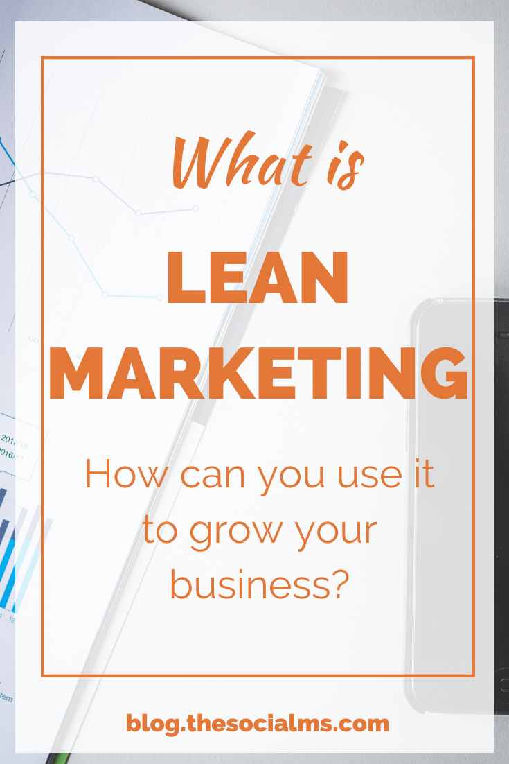 """Have you heard of """"Lean Startup"""" or """"Lean Innovation""""? Well, then it is time to adapt the concept to lean marketing. #leanmarketing #marketingstrategy #digitalmarketing #onlinebusiness #onlinemarketing"""