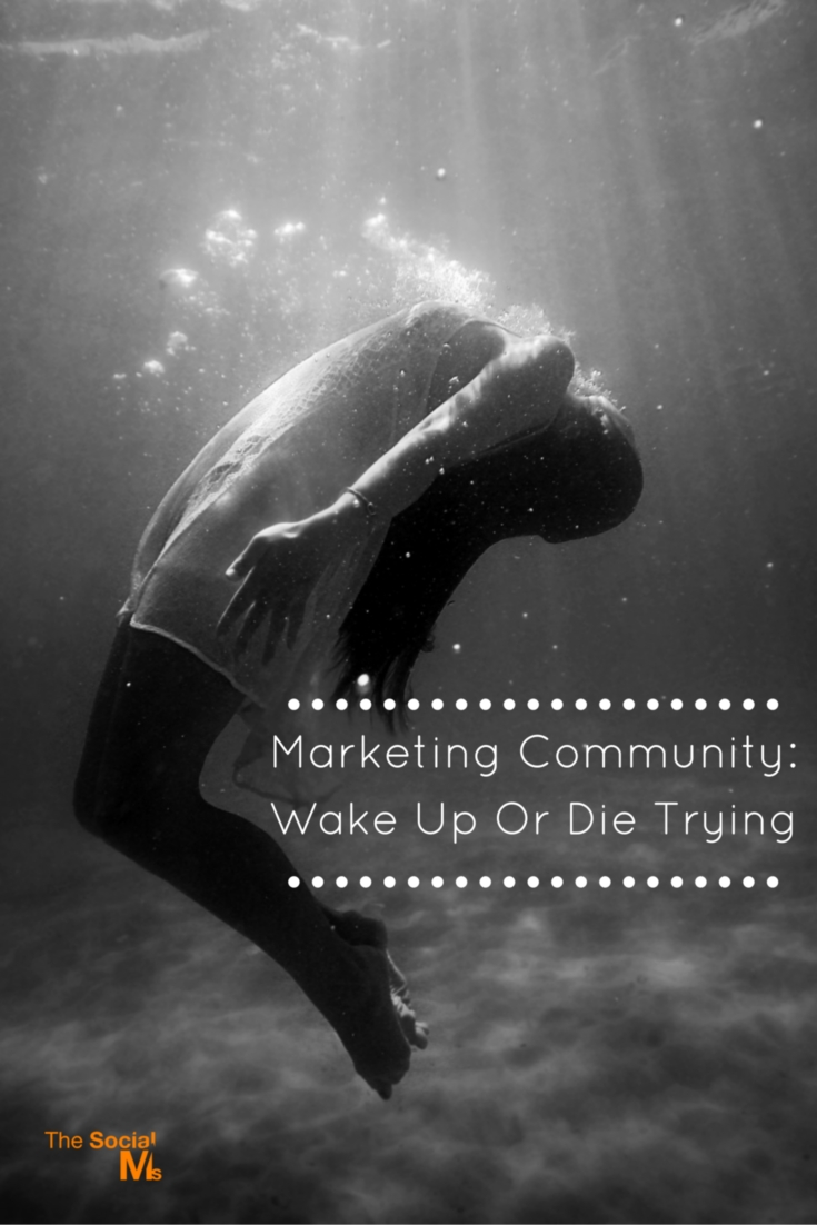 Is the marketing community losing its edge? When I started, things seemed to be different - I found engaging thoughts everywhere on the web.