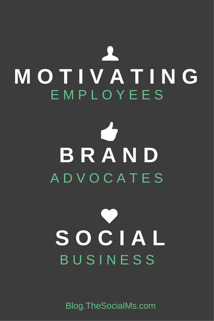 Trust your employees and turn them into brand advocates and your business into a social business. It is hard but pays off multifold.