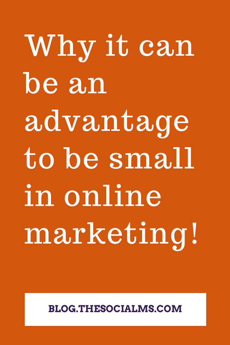 Companies have to reactto the dynamicsof online marketing. They have to reassess their actions, and adapt. And being one of the first to act often is a huge competitive advantage. That can be an advantage for smaller businesses - here is how. #smallbusinessmarketing #startupmarketing #digitalmarketing #onlinebusiness #marketingstrategy