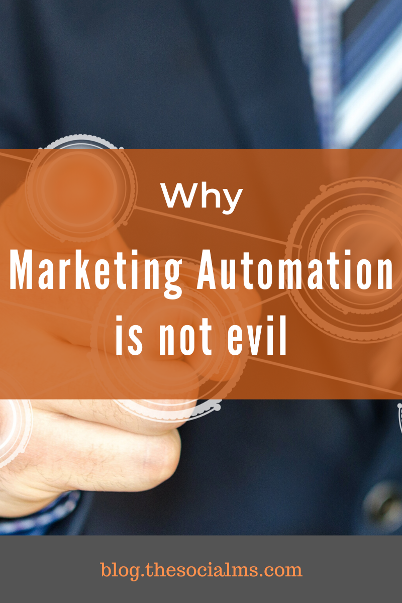 There are several ways of using marketing automation without losing the personal connection to your audience. How far you want to take automation is up to you. Here is why marketing automation is not at all bad for your marketing. #marketingautomation #marketingstrategy #digitalmarketing #onlinebusiness #onlinemarketing #smallbusinessmarketing