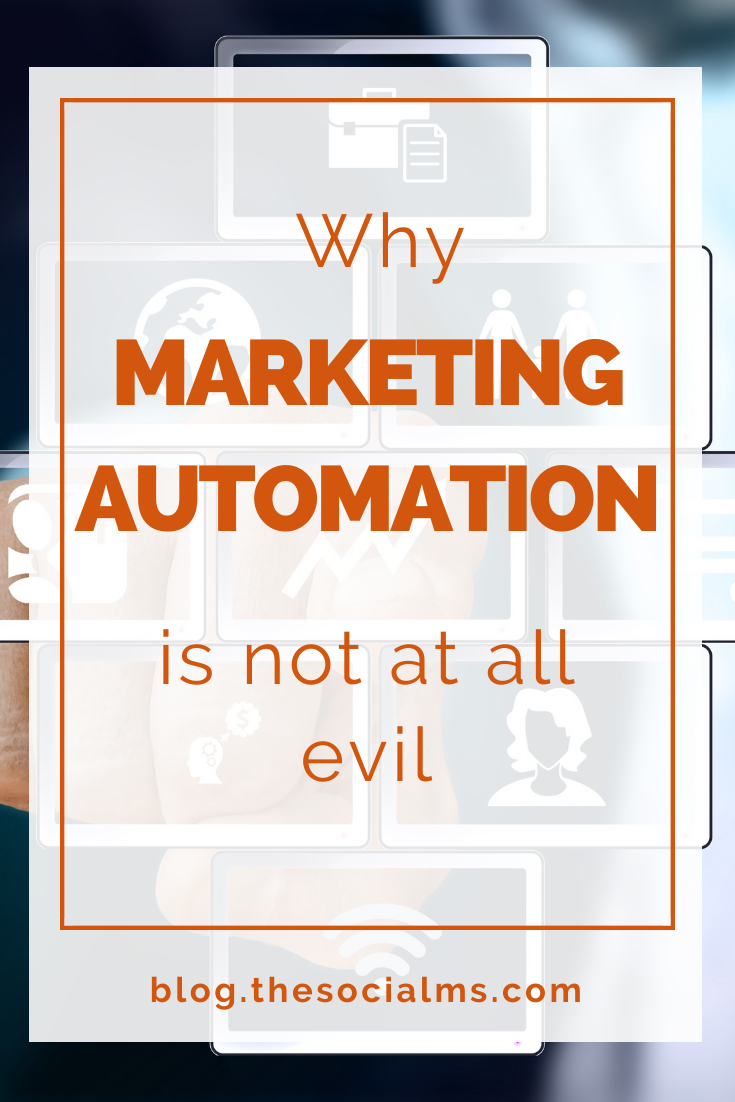 If you want to grow big in marketing there will come a point where you cannot do it all manually. Here is why marketing automation is not at all evil and why you should integrate it in your marketing strategy #marketingautomation #marketingstrategy #onlinemarketing #onlinebusiness #digitalmarketing
