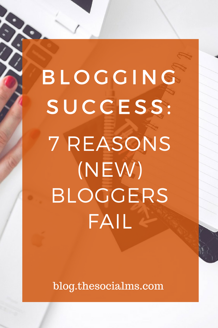 Is it possible today to really grow a successful blog? Here are 7 mistakes many bloggers make and you should avoid for more blogging success. blogging tips, blogging advice, blogging mistakes, blogging for beginners, blogging + business, blogging for money, blogging ideas, blogging for profit, blogging 101