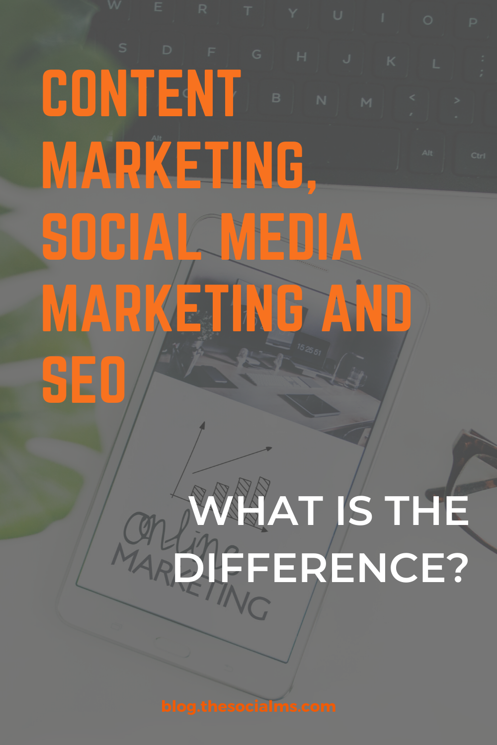 Social Media Marketing does not equal Content Marketing and Content Marketing does not equal SEO. But what exactly are they and how are they connected? #bloggingtips #seo #socialmediamarketing #contentmarketing