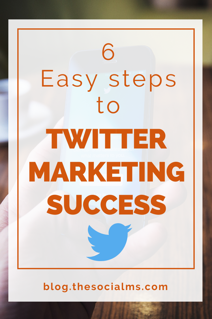 Do you want to know what you should do to get started with Twitter marketing? These easy steps will get your Twitter marketing right on track #twitter #twittertips #twittermarketing #socialmedia #socialmediatips