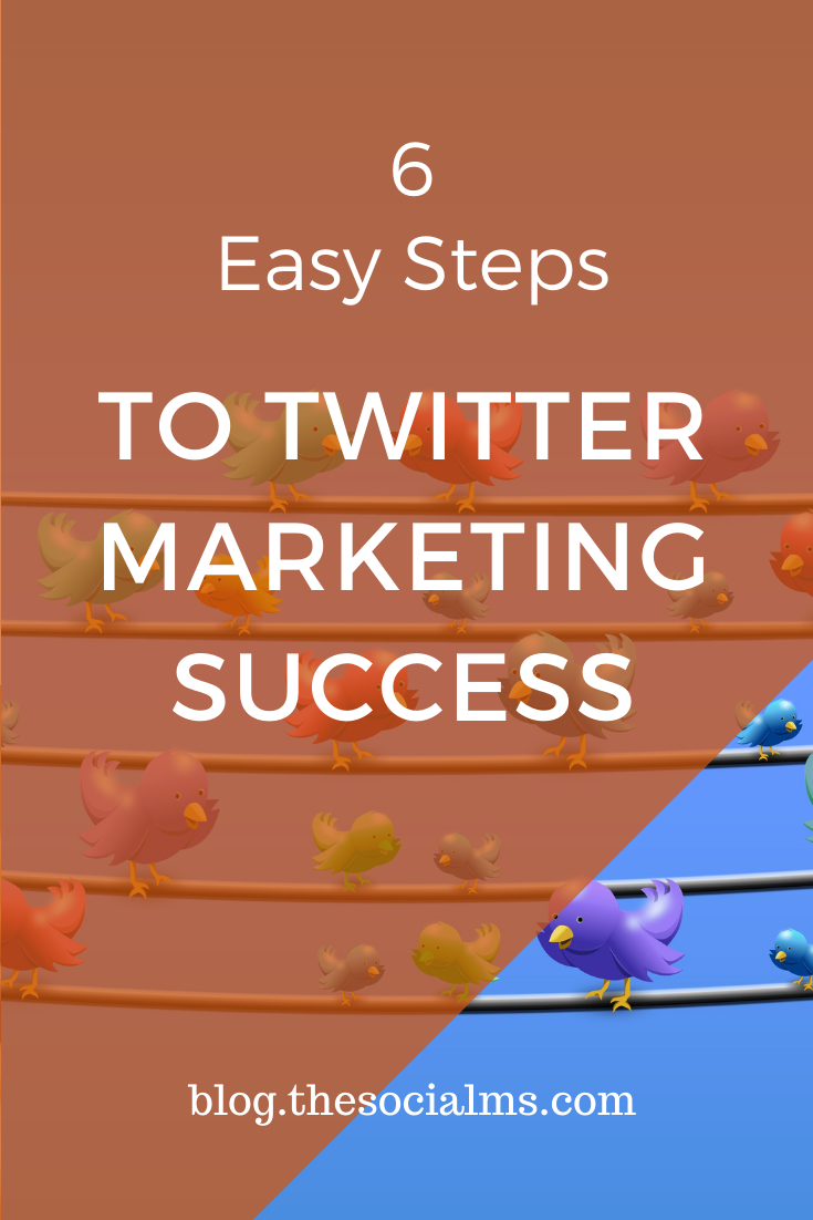 Here is your straight path to Twitter marketing success. Follow these 6 steps and your Twitter process is right on track #twitter #twittermarketing #twittertips #socialmedia #socialmediamarketing