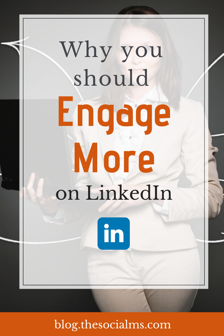 Don't underestimate the power of Engagement especially on LinkedIn - and any other social network. If you want meaningful connections don't treat them like spam. #linkedin #socialmedia #linkedintips #socialmediamarketing #socialmediatips #marketingstrategy #socialmediaengagement