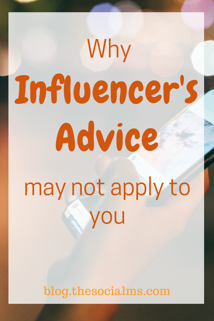 Should we follow statistics, or influencers or follow our own thinking? Here is how to use advice and find your own best marketing strategy. #marketingstrategy #onlinemarketing #smallbusinessmarketing #digitalmarketing #startupmarketing #entrepreneurship