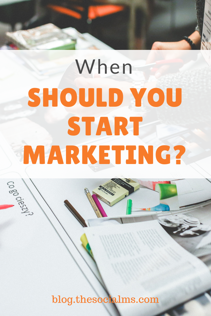 Marketing starts a fair time BEFORE you are going to launch a product, it starts long BEFORE you start your advertising campaigns, or start to send out product information. There is a lot you can do BEFORE your product is even there. #marketingstrategy #smallbusinessmarketing #onlinebusiness #startupmarketing #digitalmarketing #onlinemarketing