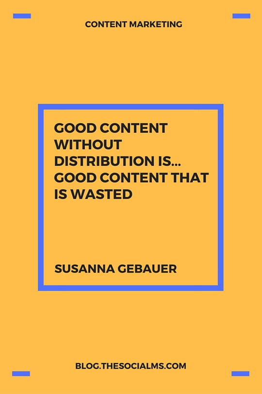 Content without Distribution