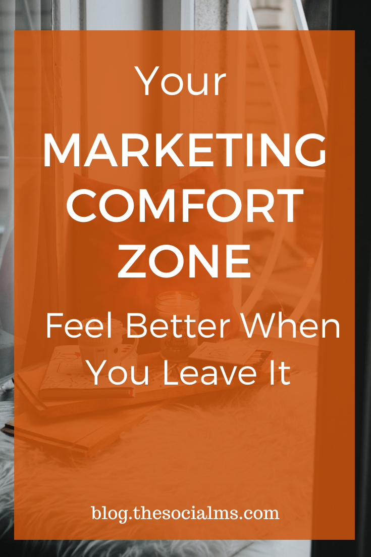 In marketing, we are tempted to stick to marketing methods and strategies that we already know and feel comfortable with. The big success often lies outside our comfort zone. #marketingstrategy #digitalmarketing #entrepreneurship #smallbusinessmarketing