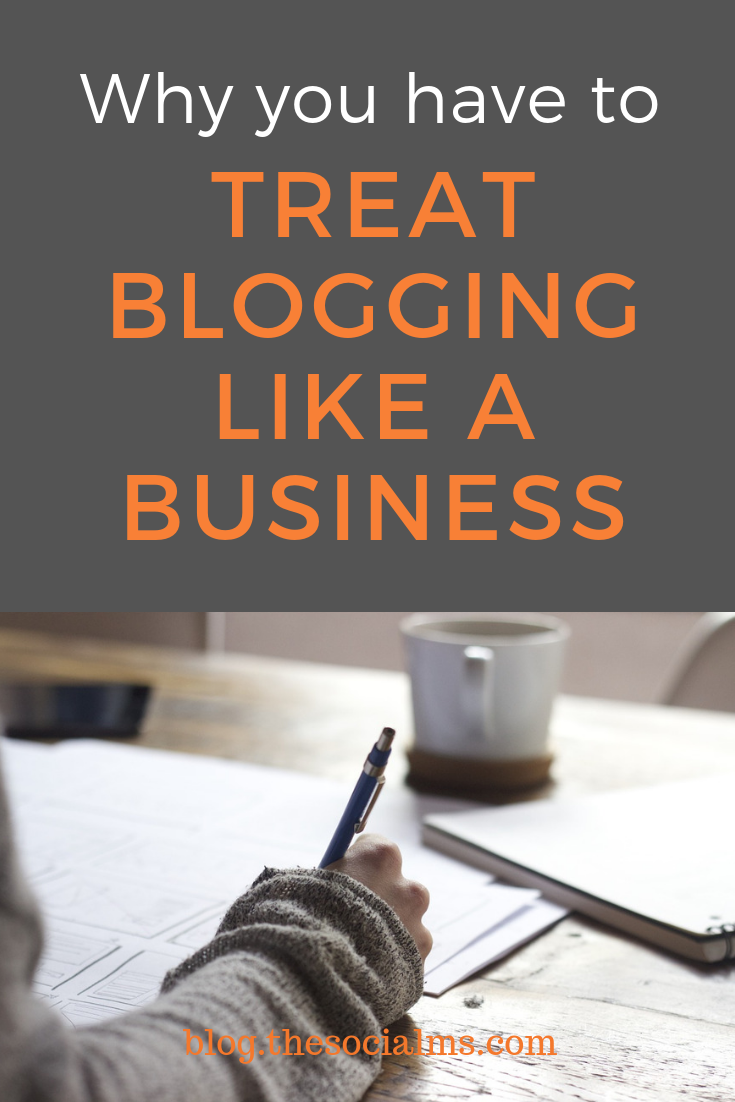 Some successful bloggers started their famous blogs after failing at a different business. Then they started blogging. Their blogging success is awesome. If you want to create a similar blogging story start treating your blogging like a business and yourself as an entrepreneur - because that is what you are. #bloggingsuccess #bloggingbusiness #onlinebusiness #bloggingtips #bloggingforbeginners