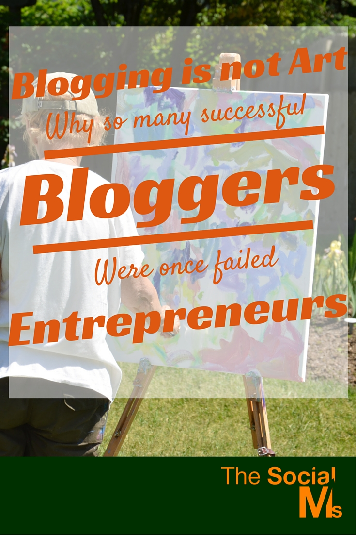 Some successful bloggers started their famous blogs after failing at a different business. Then they started blogging. Their blogging success is awesome.