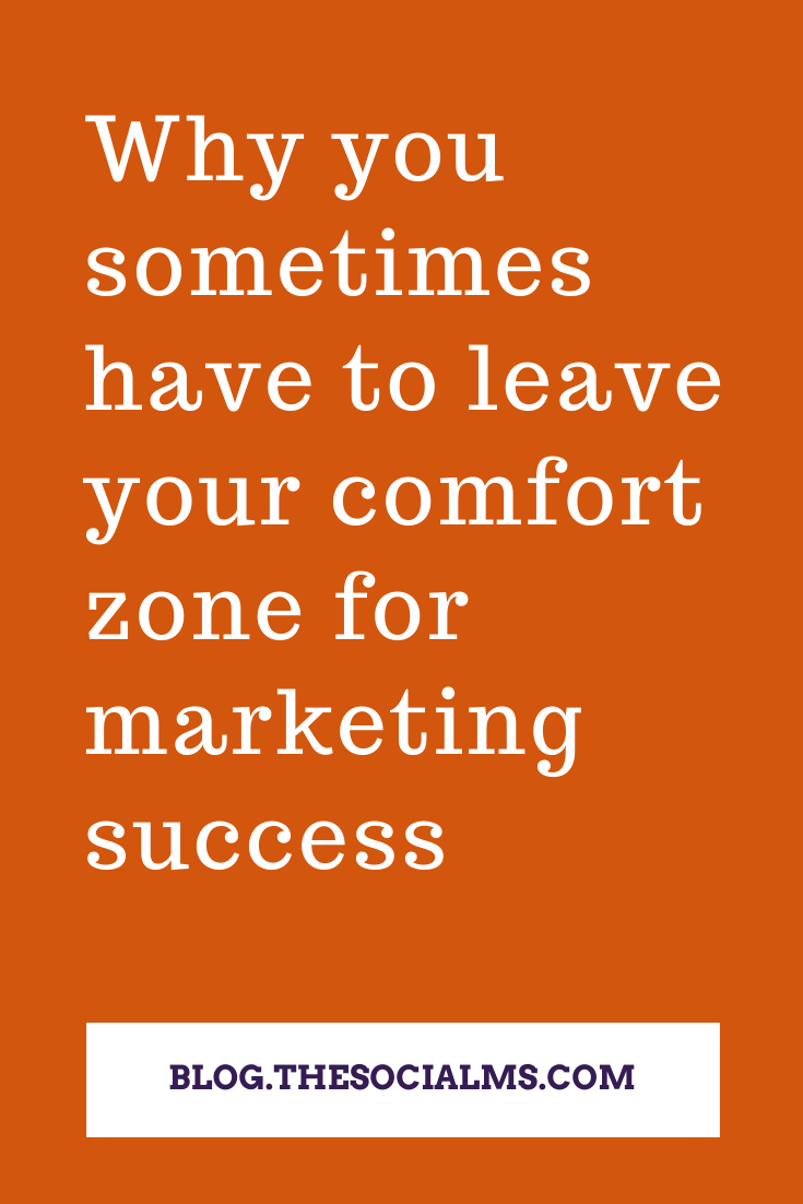 Whenever you are marketing anything, especially when you are doing this online, you will be tempted to walk the path you already know. But the real success most of the tme only can be found when you leave your comfort zone. #marketingstrategy #onlinemarketing #dogotalmarketing
