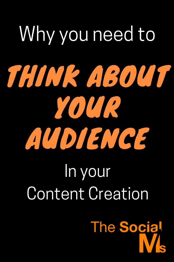 You ned to think about your audience for your content creation. You will learn so much about your audience, your field of interest, about potential customers and about communication, about new angles for your marketing, new product ideas... #contentcreation #blogcontentcreation #blogpostcreation #blogwriting #bloggingtips #contentmarketing #smallbusinessmarketing