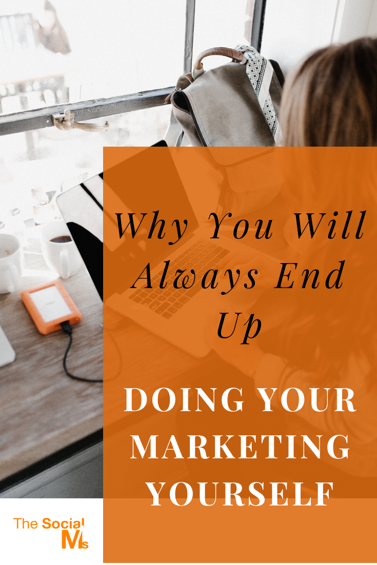 Who is going to build brand recognition and trust if you don't do it? Who has the biggest interest for you to succeed? The answer is always YOU. #marketingstrategy #digitalmarketing #entrepreneurship #smallbusinessmarketing