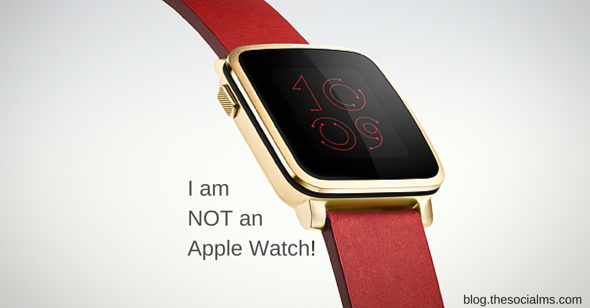 Pebble: No Apple Watch