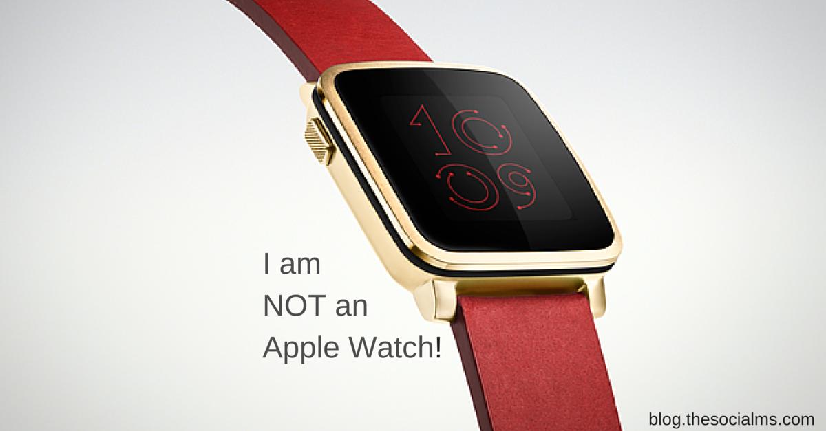 Pebble: No Apple Watch