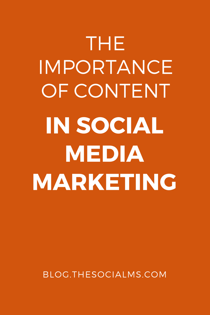 Content in Social Media Marketing: Without content your social media marketing is doomed to fail. Successful social media marketing needs a lot of content.