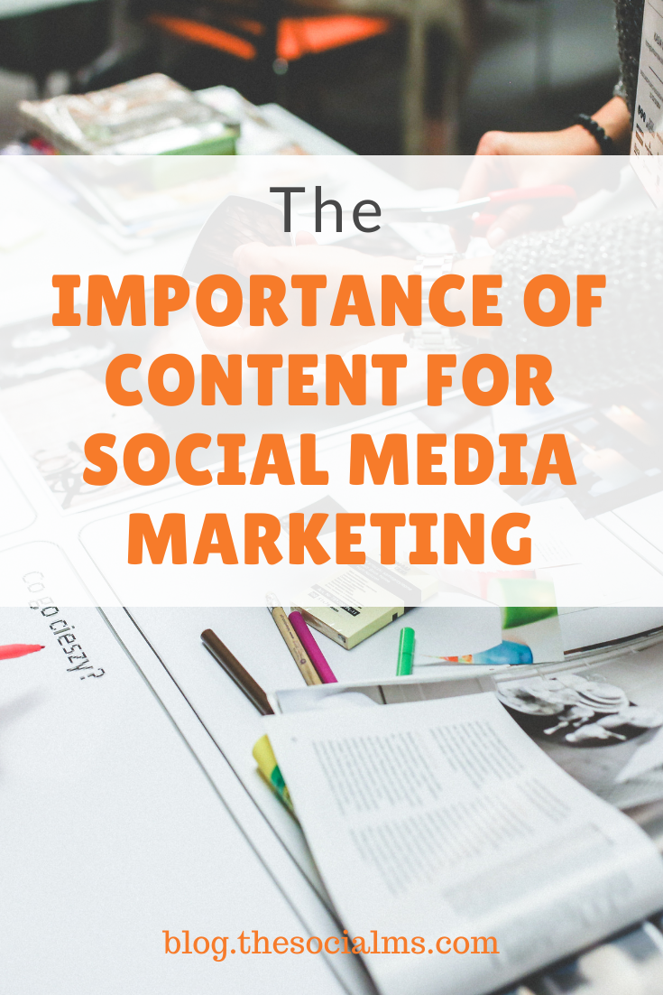 The answer to the question what to post on social media? It's the Content – or the lack thereof. What do you post if you do not have interesting content? #contentmarketing #socialmedia #socialmediamarketing #socialmediatips