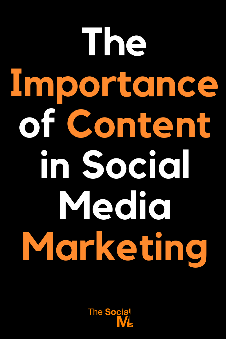 Content in Social Media Marketing: Without content, your social media marketing is doomed to fail. Successful social media marketing needs a lot of content - here is why. Learn how to use your awesome content for social media marketing success. #socialmediamarketing #socialmediatips #socialmediastrategy #socialmediasuccess