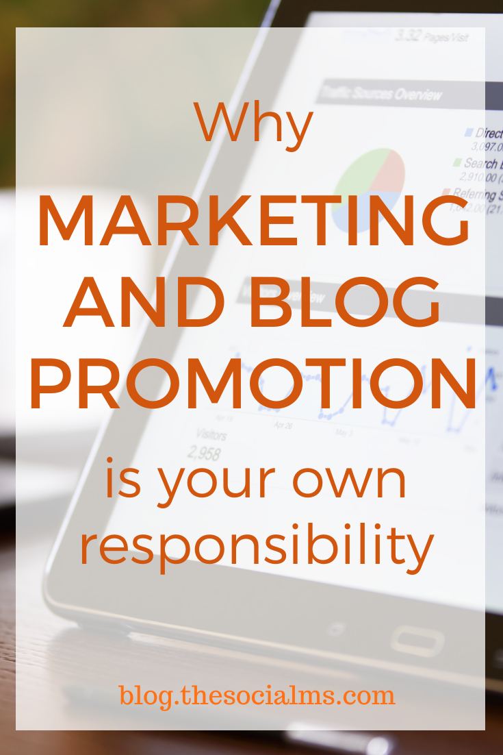 It is part of your job as an entrepreneur to market your business, and if you do not get this job done, you are likely to fail. #blogpromotion #bloggingtips #marketingstrategy #onlinemarketing #blogging101