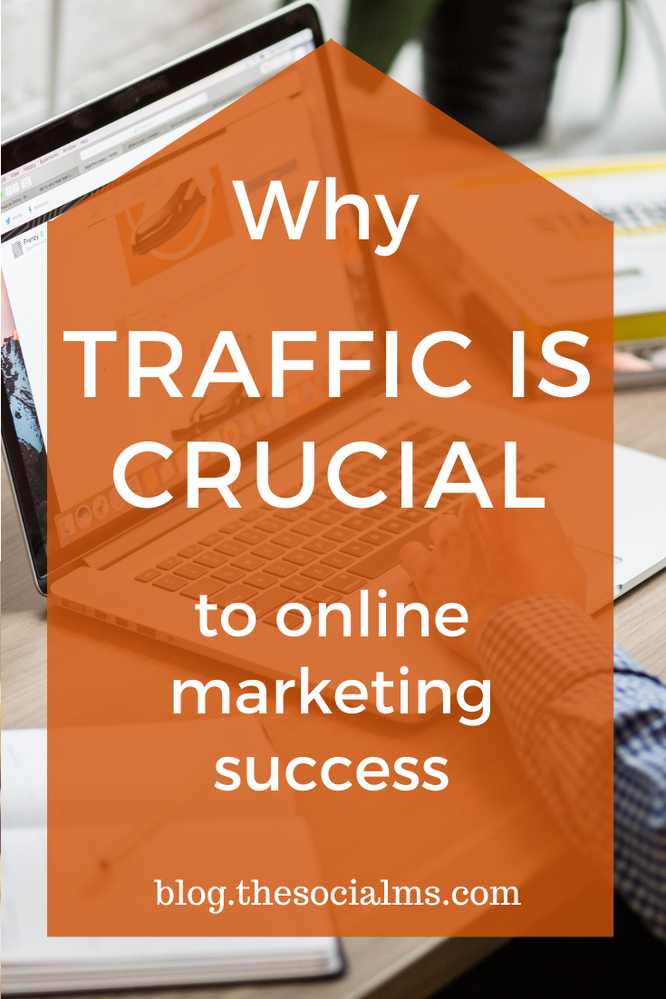 You need traffic before you can succeed with your online business. While other metrics decide over success, traffic decides over failure. #bloggingsuccess #onlinebusiness #onlinemarkeitng #blogtraffic #trafficgeneration #bloggingforbeginners #startablog #blogging101
