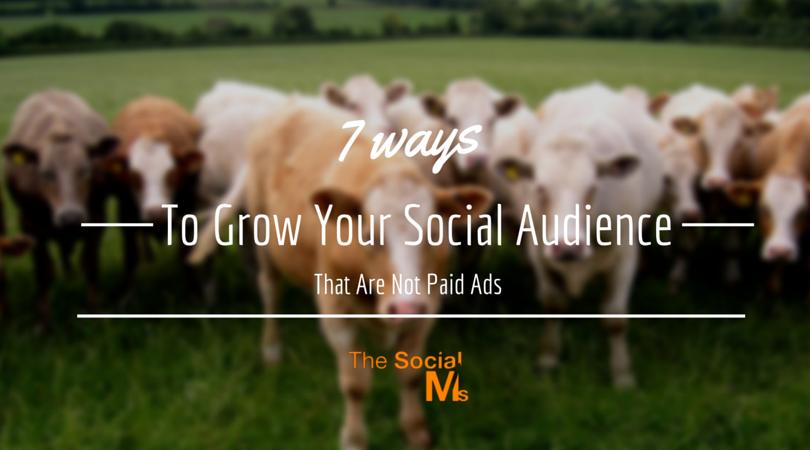 7 ways to grow social audience