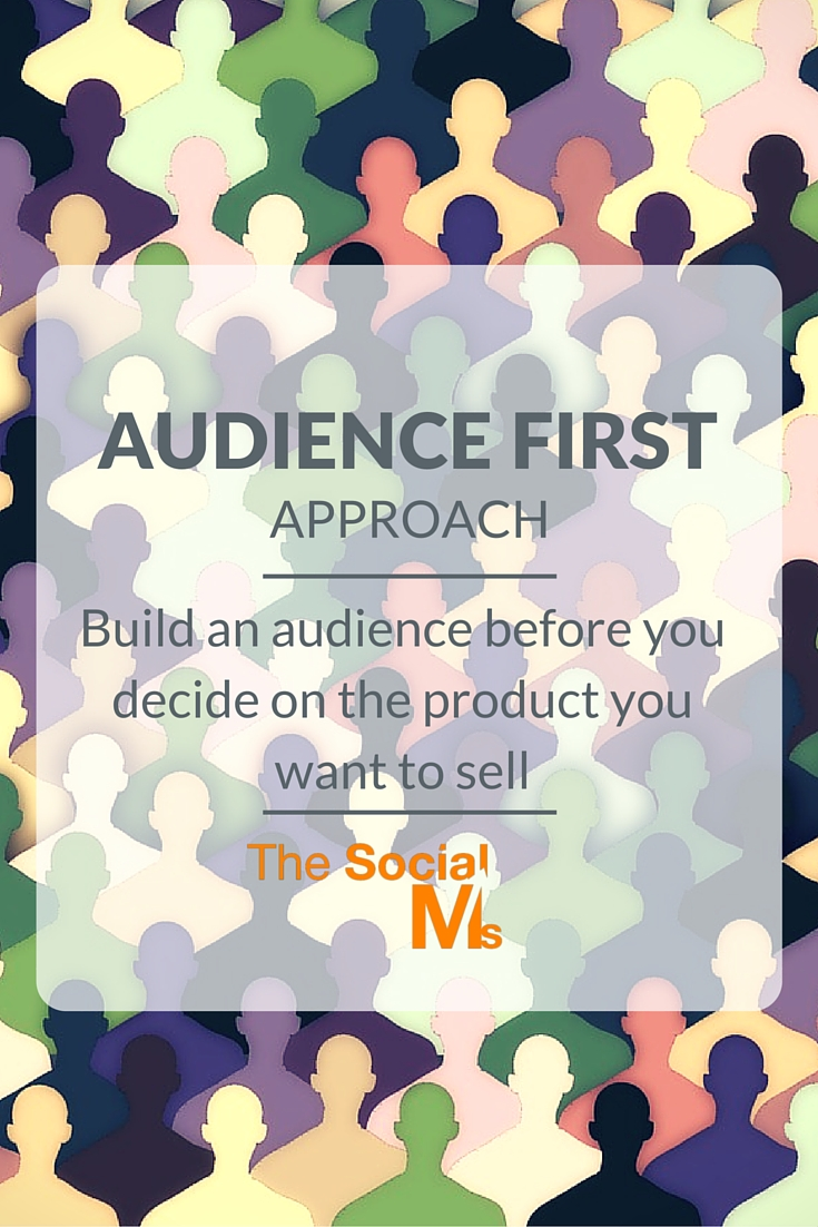 Your audience can make or break your business. You need people to listen to you before you can sell. Invest in your audience, they will pay you back.