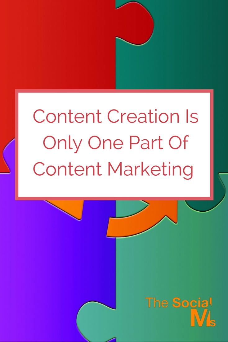 For successful content marketing you need more than to create content. A content marketer also knows how to distribute the content to the audience.