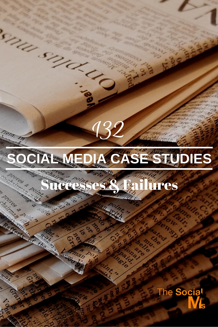 Multiple Social Media case studies about how businesses are successfully using social media for their business success - and some epic failures as a bonus.
