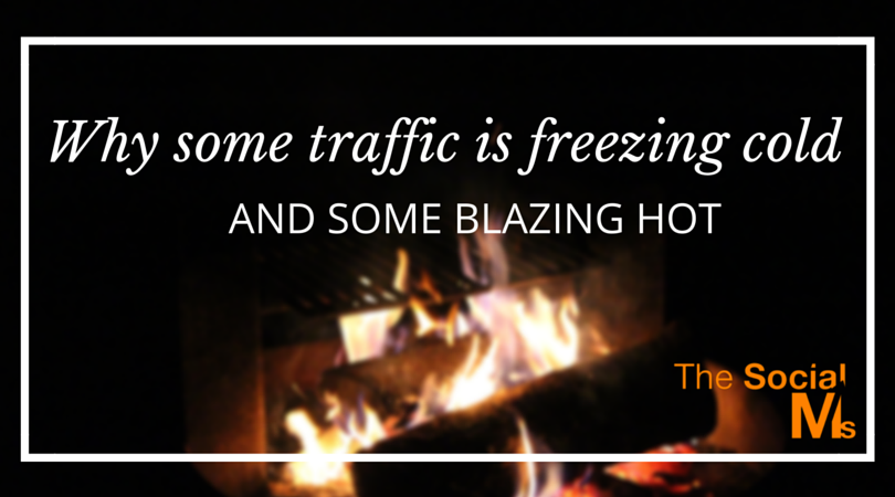 Why some traffic is freezing cold