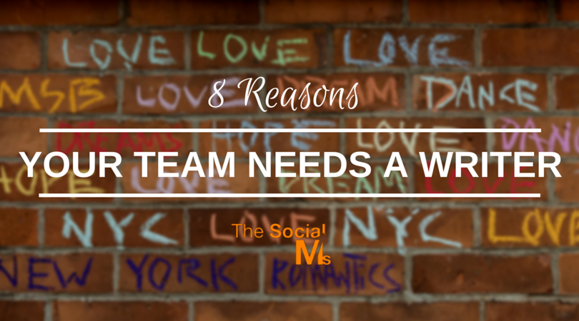Your Team Needs A Writer