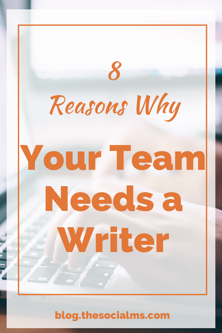 No matter what you want to do in the digital world, there will be a lot of writing involved. here are some reasons why a writer should be part of your team #contentcreation #blogpostcreation #contentmarketing #digitalmarketing