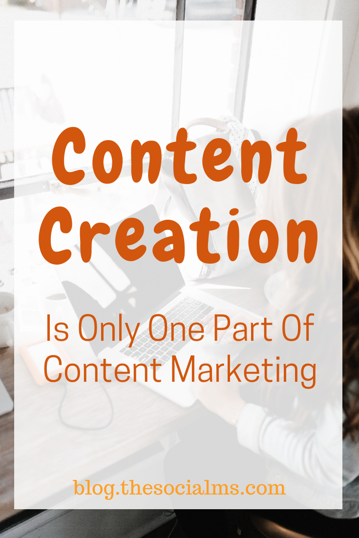 Do not limit content marketing down to content creation. You have to consider how you will reach an audience for your great content if you do not actively distribute it? What is your content marketing goal? #contentcreation #contentmarketing #contentmarketingstrategy #contentdistribution