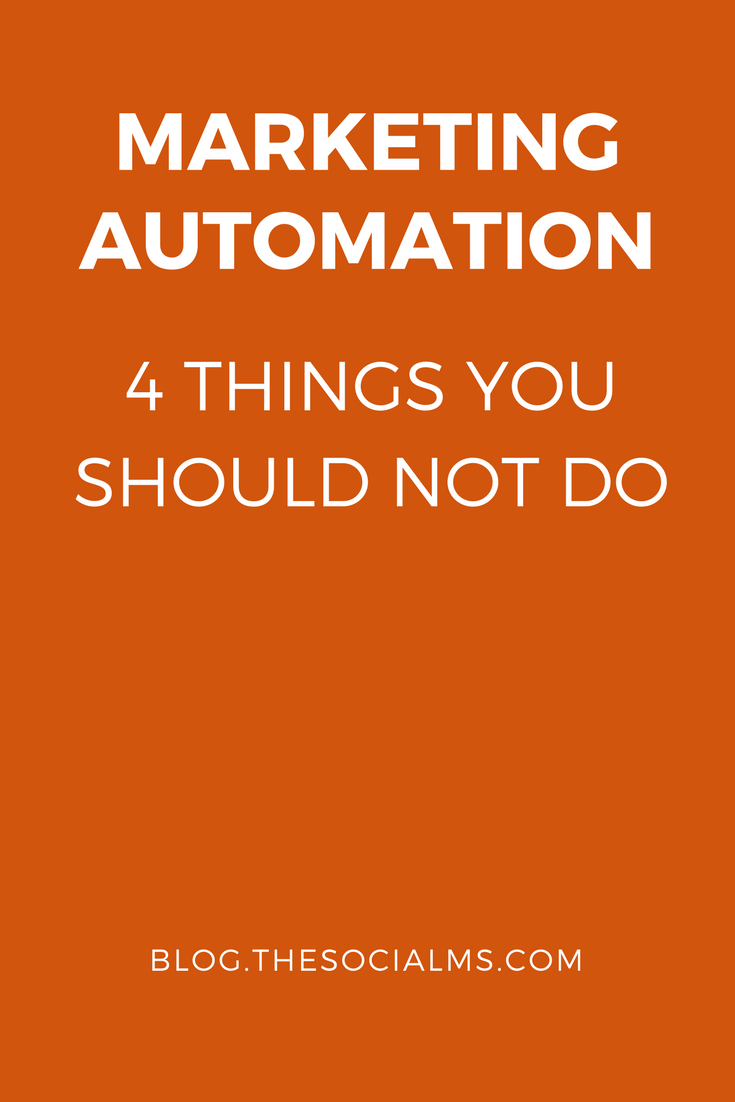 Marketing automation is a very legitimate way of saving time and money and scaling up business in social media. Doing it blindly can hurt your business.