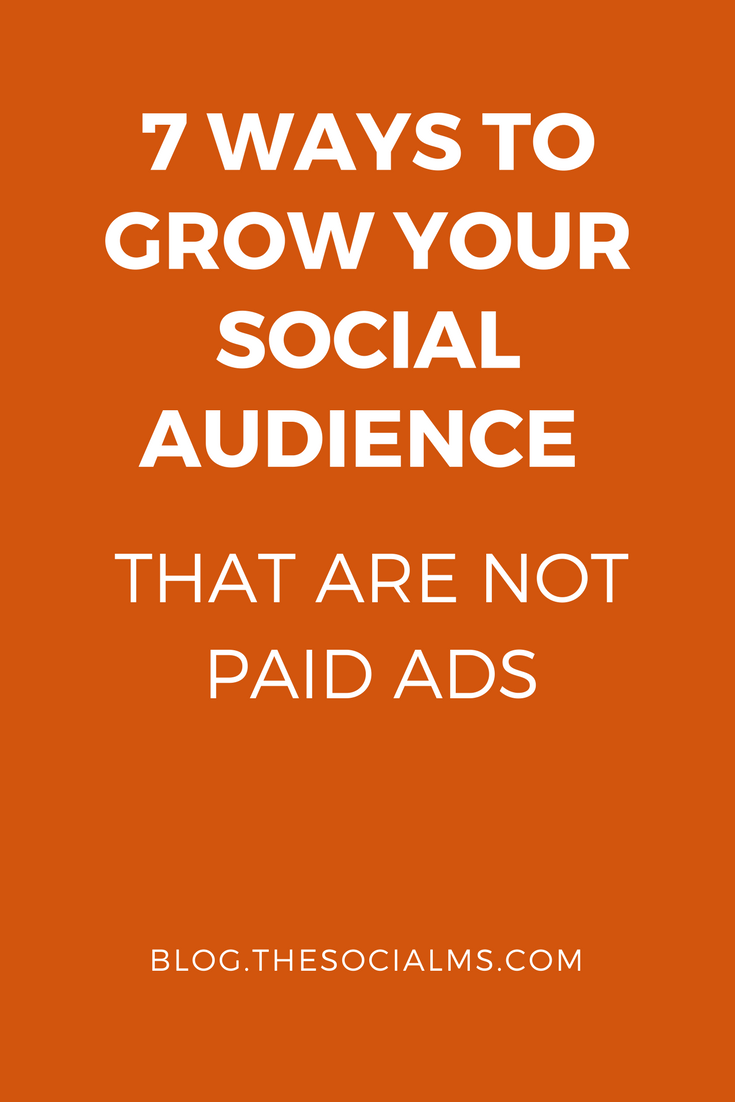 The secret to growing a social audience is to get actively in front of people from your target audience: Show them you exist and show them your value.