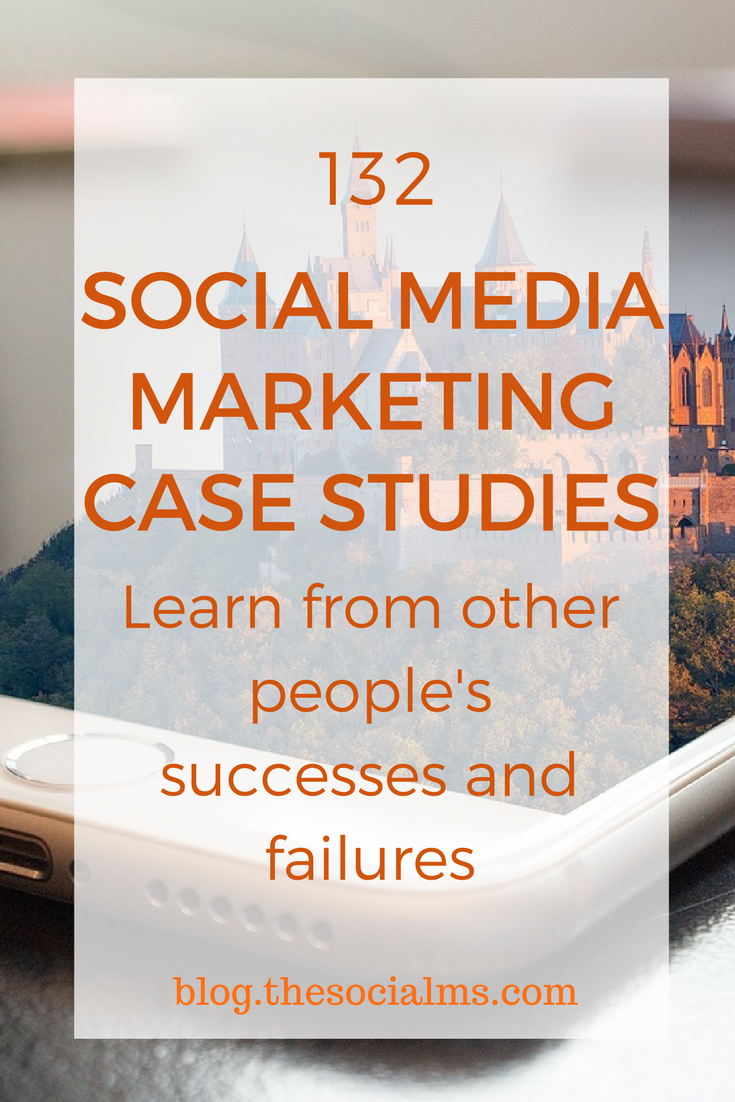 Looking for Social Media Case Studies? We were too - and we found awesome social media case studies showcasing amazing success - and some epic failures! social media gone wrong case studies, social media marketing case study
