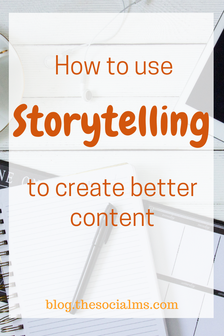 Good stories are what big companies use to sell their products. By learning how to tell an engaging story for your own business you can put yourself on the road to success. #storytelling #contentcreation #blogwriting #blogpostcreation #contentmarketing #bloggingtips #blogging101