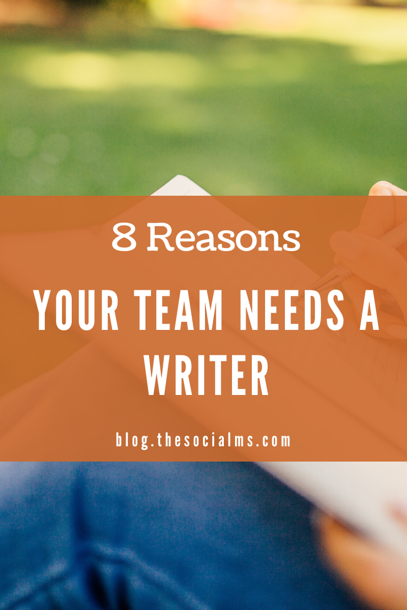 Here is why a writercan become the savior of your business. A writer can create the basics without which your marketing will remain some blind poking in the dark depths of social media. Here are 8 reasons why you need a writer on your marketing team, #contentcreation #blogwriting äblogpostcreation #bloggingtips #smallbusinessmarketing #startupmarketing #marketingstrategy #onlinemarketing
