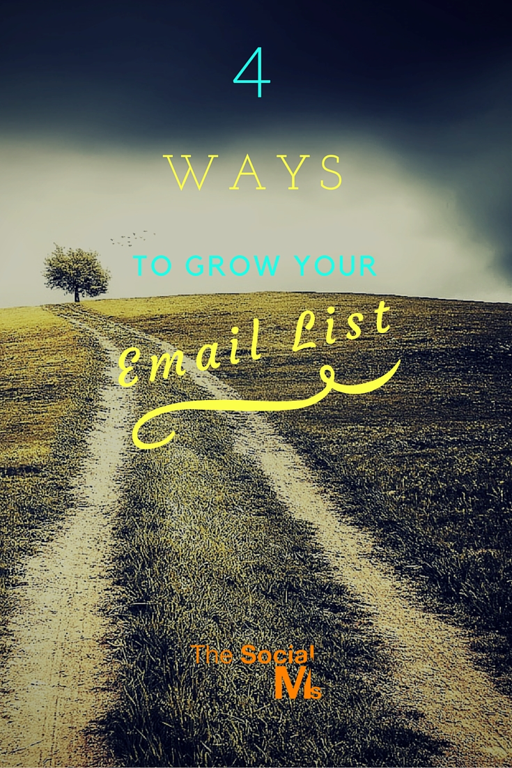 Growing a list for your email marketing is not rocket science. There are methods everybody can use to build an email list for marketing purposes.