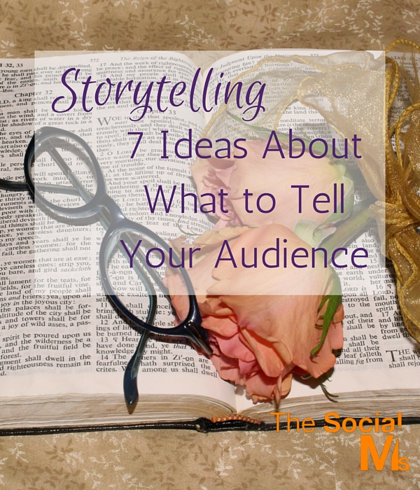To help you start out with your own storytelling, here are some examples of what stories you could tell (and what kind of stories other people tell).