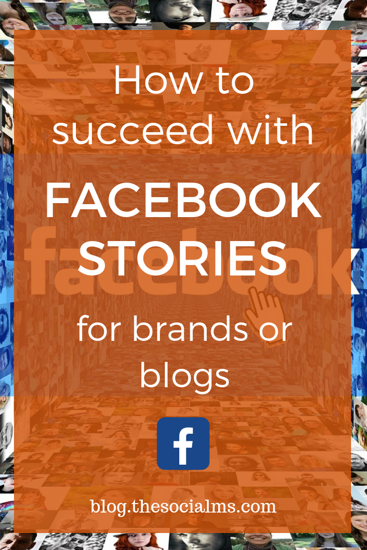 Facebook has various video formats that you can use, as Facebook live, Facebook video posts - and Facebook stories. There is also a trend in social media towards more unofficial and less formal content. Brands infuse personality and a feeling of accessibility by using storytelling in combination with more fun and less designed content. Here is how to use facebook stories for your brand or blog. #facebook #facebookstories #facebooktips #facebookmarketing #socialmedia #socialmediatips #socialmediamarketing