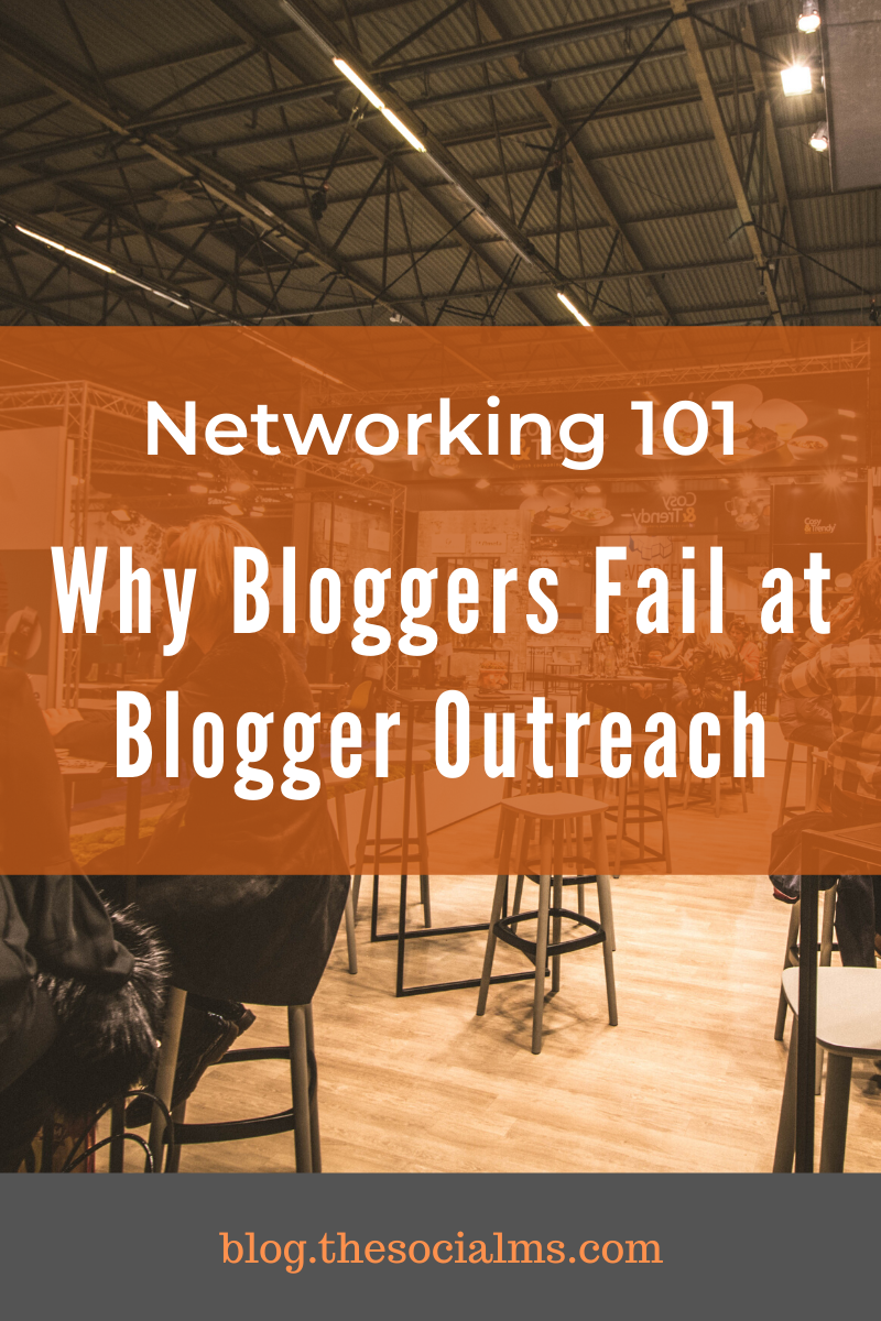 The blogosphere was built on networking. Why is it still so hard for bloggers and businesses to work together to grow bigger? Blogger outreach is a skill that can help to grow your success. #bloggeroutreach #blogging101 #bloggingtips #startablog #smallbusinessmarketing #bloggingforbeginners