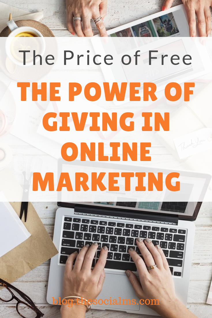 Many people seem to forget how much they are getting for free - and how much this free content is worth #onlinemarketing #onlinebusiness #salesfunnel #leadmagnet